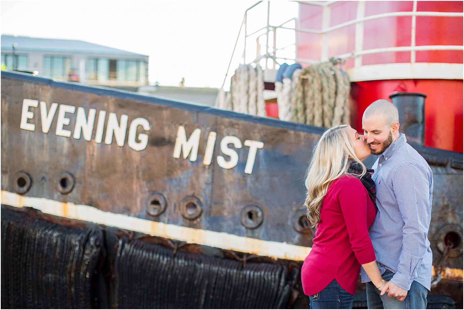 Fells Point Baltimore Waterfront Engagement