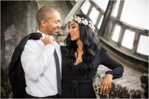 Dramatic Baltimore Clocktower Engagement