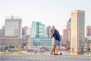 Federal Hill Baltimore Engagement Session