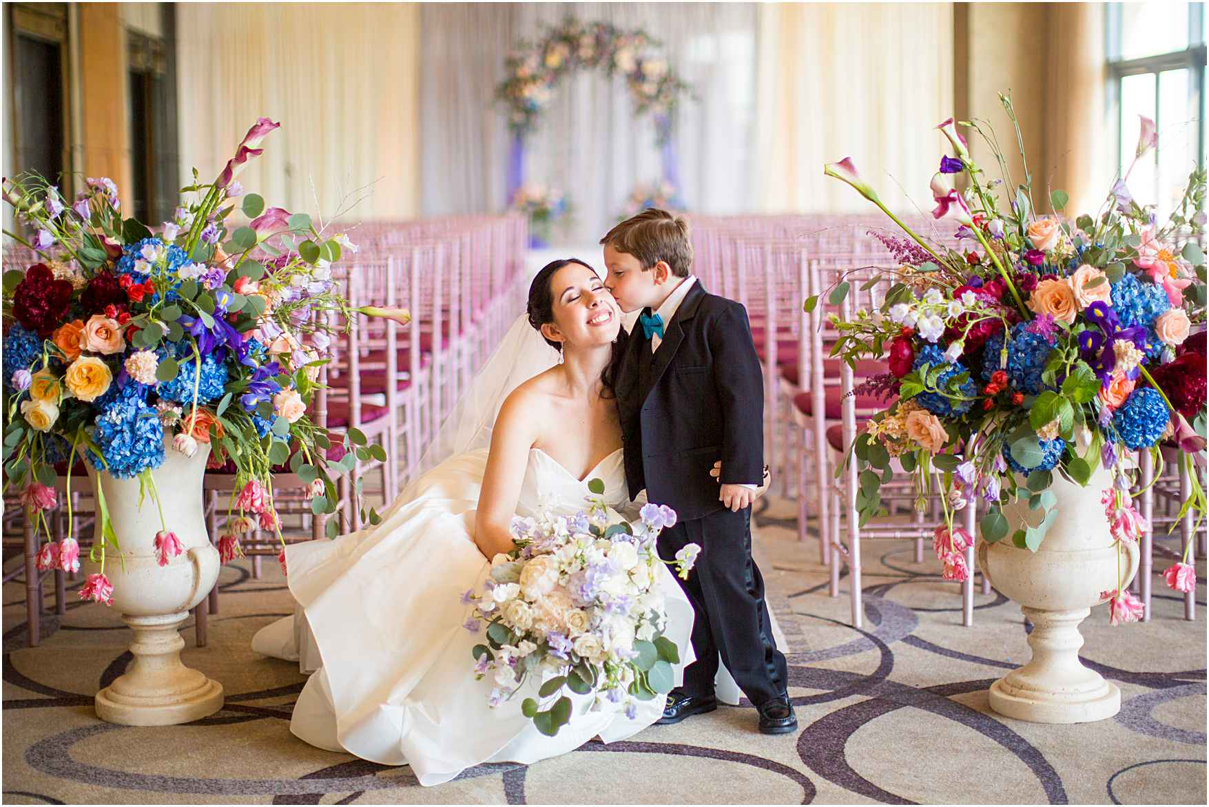 Sophisticated Four Seasons Baltimore Wedding