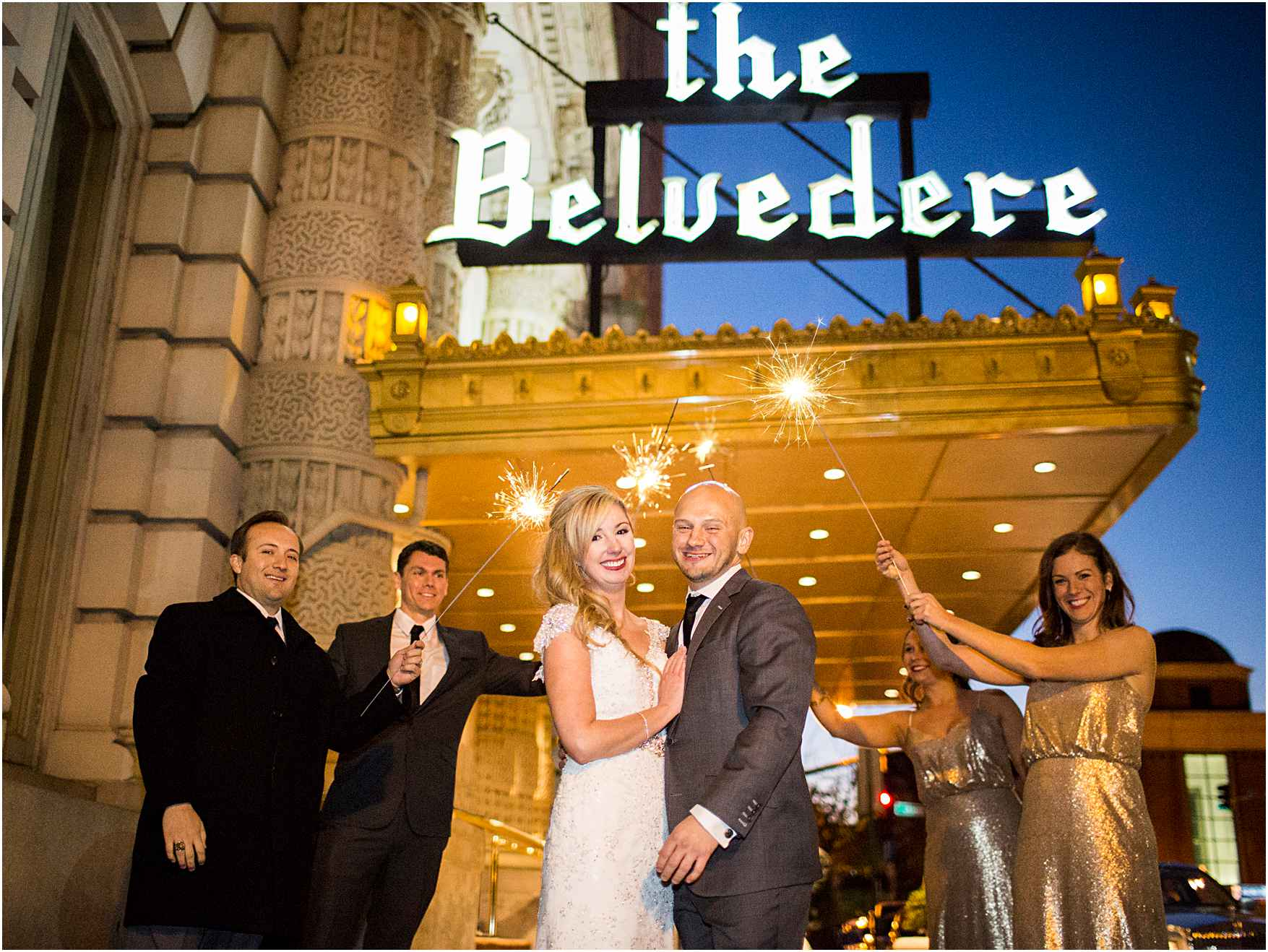 13th Floor Belvedere Wedding