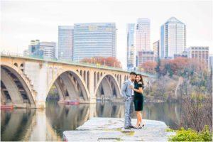 Georgetown Washington DC Engagement
