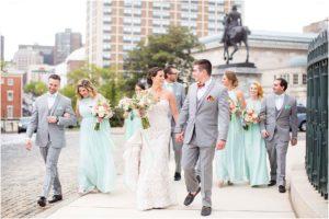 Engineers Club Garrett-Jacobs Mansion Wedding